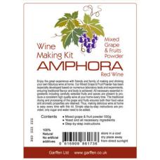 Набор для виноделия AMPHORA на 23 л. красное вино.