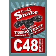 Турбо дрожжи DoubleSnake C48