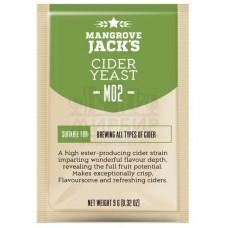 Дрожжи винные Mangrove Jack's Cider M02, 10 гр.