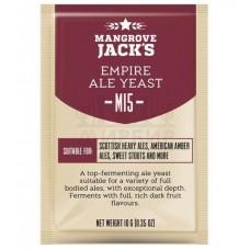 Дрожжи пивные Mangrove Jack's Empire Ale M15, 10 гр.
