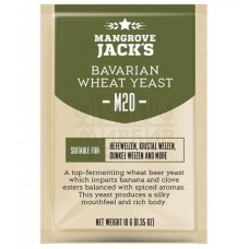 Дрожжи пивные Mangrove Jack's Bavarian Wheat M20, 10 гр.