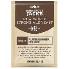 Дрожжи пивные Mangrove Jack's New world strong ale M42, 10 гр.